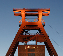 Zeche Zollverein in Essen. Foto: Thomas Robbin. Lizenz: CC-BY-SA-3.0