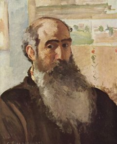 Camille Pissarro, Selbstportrait, 1873. Musée d'Orsay. Lizenz: PD-Art. Quelle: http://commons.wikimedia.org/wiki/File:Camille_Pissarro_040.jpg