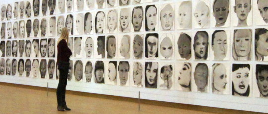 Marlene Dumas: The Image as Burden Ausstellungsansicht