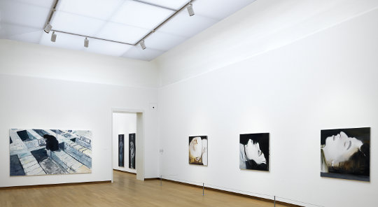 Marlene Dumas: The Image as Burden Ausstellungsansicht. Photo: Gert-Jan van Rooij