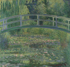 Claude Monet Wasserlilienteich, 1899. Lizenz: PD-Art. Quelle: Wikimedia Commons