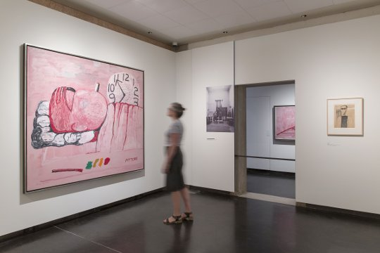 "Ausstellungsansicht ""Philip Guston and The Poets"", Gallerie dell'Accademia, Venedig. Foto: Lorenzo Palmieri. Rechte: © The Estate of Philip Guston, Courtesy of the Estate, Gallerie dell'Accademia and Hauser & Wirth"